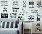 Wall Art Stickers Motivational Quotes, Removable Home Decor, Quality Vinyl For H