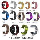 For Apple Watch Series 6 5 4 3 2 1 Magnetic Milaese Stainless Steel Wrist Band