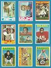 1972 Topps Football U Pick (1) $3.5 USD on eBay