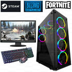 Fast Intel Core I5 Gaming Pc Computer 16gb Ram 240gb Ssd Windows 10 Gt 710 2gb
