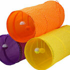 Pet Tunnel Tube Toy Collapsible Cat Dog Tube Play Toy Interactive Training Toy