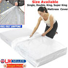 Dust Protection 400 Gauge Heavy Duty Single Double King Super Bed MattressBag UK