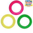 Classic Fling a Ring Dog Puppy Frisbee Flyer Fetch Throw Choice of Colour