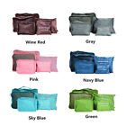 6 Set Travel Clothes Storage Bags Packing Cube Luggage Organizer Bag Waterproof