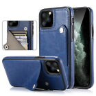 Luxury Shockproof Leather Back Flip Card Slot Fashion Case Cover For Cell Phones