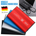 "Portable 2.5"" USB 3.0 500GB/1/2TB External Hard Drive Disks HDD For PC Laptop"
