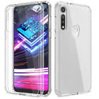 For Moto G Fast/G Power/G Play 2021 Clear Shockproof Case/Glass Screen Protector