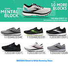 Brooks Ghost 13 Wide Men 2E / Women D Cushion Road Running Shoes Pick 1