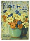 1929 FERRY'S SEED ANNUAL Catalog, Farming, Gardening, Flowers, with Order Form