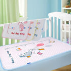 Baby Infant Travel Changing Pad Cotton Reusable Waterproof Urine Mat
