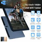 10.1inch 10 512G WiFi Tablet Android7.0 3G Bluetooth Game Computer Dual Camera