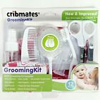 12 Pieces Cribmates Baby Grooming Kit PINK or BLUE Baby Brush Nail Clippers NEW