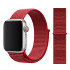For Apple Watch Nylon Sport Loop Woven Strap Band Series4 /5/6/SE 38/40/42/42 mm