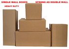 Heavy Duty Cardboard Boxes  Single Wall mailing  Packing boxes storage boxes