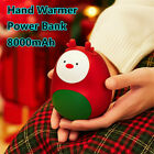 Cute Christmas Electric Hand Warmer Mini Portable USB Rechargeable Mobile Power