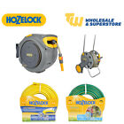 Hozelock 30m 50m Ultimate Ultraflex Premium Weatherproof AutoReel Hose Pipe Cart
