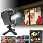 Halloween Christmas Laser Projector Light Disco Mini Window Home Spooky 12 MOVIE