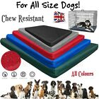 HEAVY DUTY WATERPROOF DOG CAGE MAT CHEW RESISTANT MATTRESS OUTDOOR CRATE BED PAD