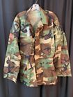 NEW Coat, Hot Weather, Woodland Camo Combat Battle Dress Utility BDU Summer