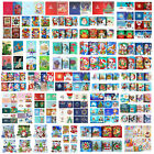 1-12pcs DIY Special Shaped Diamond Painting Embroidery Christmas Greeting Card