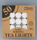 Tealight 9 Hours Candle Tea Light Candles Tealights Home Decor Party Wedding