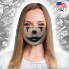 Black Clown face mask -Washable & Reusable-Lips ,makeup,costume -Free Shipping