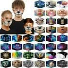 New Washable Reusable Facemask Half Face Mouth Mark Protective Adults Kids