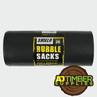 EXTRA LARGE BLACK BUILDERS RUBBLE WASTE SACKS BAGS HEAVY DUTY GARDEN REFUSE