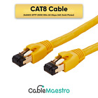 CAT8 Copper Cable Ethernet Shielded Performance Patch Cord SFTP 26AWG RJ45 Lot