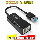 USB 3.0 2.0 Network Card Lan to RJ45 Adapters Single port Support Win 8 10 Vista