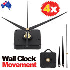 Silent Diy Quartz Movement Wall Clock Motor Mechanism Long Spindle Repair Kit.