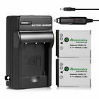 US Lot EBL 3000mAh AA Lithium 1.5V Ultimate LFB-AA Batteries + Storage Box