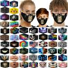 Fashion Face Mask 3d Printed Face Cover Washable Reusable Outdoor Protection New