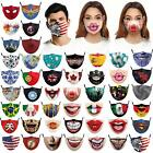 Face Mask Mouth Protection Washable- Animal Designs - Dog, Cat, Pig Snout