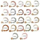 Baby Cotton Pacifier Chain Pacifier Clip Infant Teething Toys Holder For Nipples