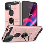 For T-Mobile REVVL 4/4+/REVVL 5G Case Shockproof Magnetic Ring Kickstand Cover