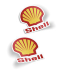 Shell Gasoline, Quality Vinyl Decal, Stickers, Set of 2, Free Shipping