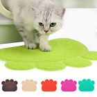 Pet Dog Puppy Cat Feeding Mat Pad Cute Bed Dish Bowl Food Feed Placement