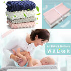 Infant Ultra Soft Plush Baby Diaper Change Changing Pad Cover Waterproof 1 PCS
