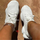 Women's Sneakers Casual Sports Running Tennis Mesh Shoes Breathable Trainers