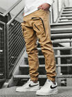 Man's Casual Joggers Pants Sweatpants Cargo Combat Loose Sports Workout Trousers