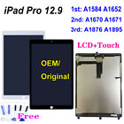 For iPad Pro 12.9 1 2 3 Gen A1584 A1652 A1670 A1671 LCD Touch Screen Assembly QC