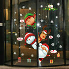 Christmas Xmas Santa Removable Window Stickers Art Decals Wall Home Shop Decor