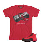 Tee to match Air Jordan Retro 12 Reverse Flu Game. Safe Tee