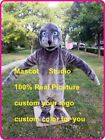 Grey Seal Mascot Costume Suit Cosplay Party Game Dress Outfit Halloween Adult