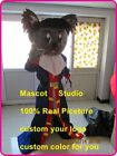 Pirate Koala Mascot Costume Suit Cosplay Party Game Dress Outfit Halloween Adult
