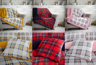 Tartan Highland Check Throw Soft & Cosy Blanket For Sofa Bed or Cushion Cover
