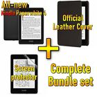 [Official Leather Cover + Screen Protector set] Kindle Paperwhite 4 (10th gen)