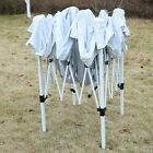 TOP 10'X10' GOPLLH EZ POP UP Tent Gazebo Wedding Party Canopy Shelter Carry BagN