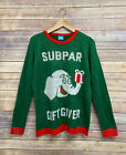 Women's Ugly Christmas Sweater Norther Pole Subpar Gift Giver Small XL 2XL